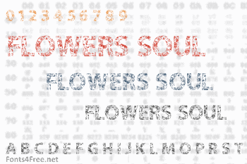 Flowers in our Soul Font