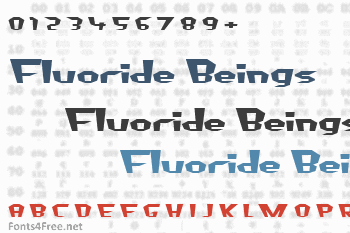 Fluoride Beings Font