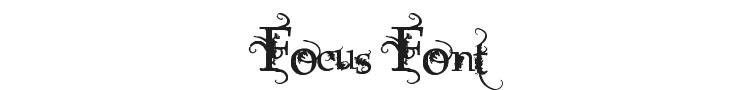 Focus Font Preview