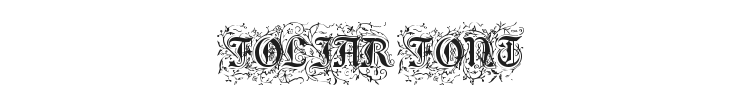 Foliar Initials Font Preview