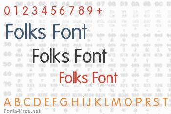 Folks Font
