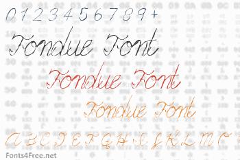 Fondue Font