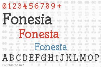 Fonesia Font