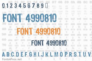 Font 4990810 Font