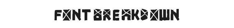 Font Breakdown Font Preview