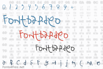 Fontbardeo Font