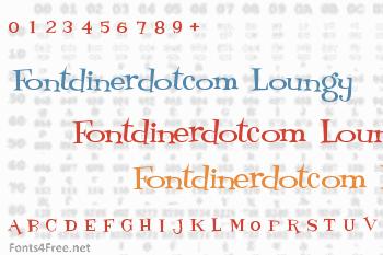 Fontdinerdotcom Loungy Font