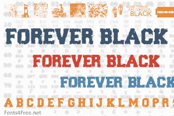 Forever Black Font