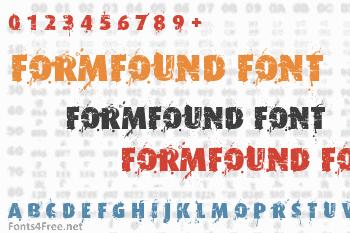 Formfound Font