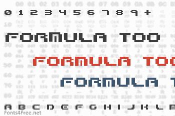 Formula Too Complex Font