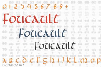 Foucault Font