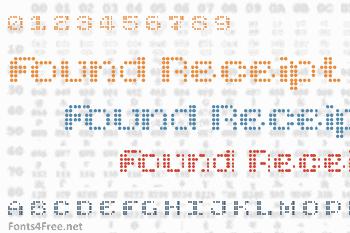 Found Receipt Font