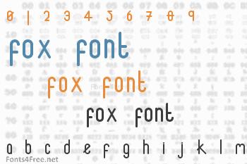 Fox Font