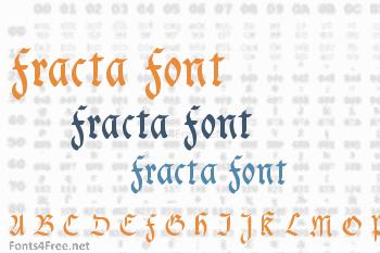 Fracta Font