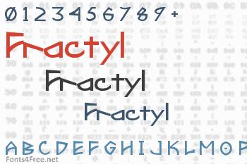 Fractyl Font