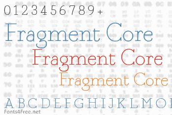 Fragment Core Font