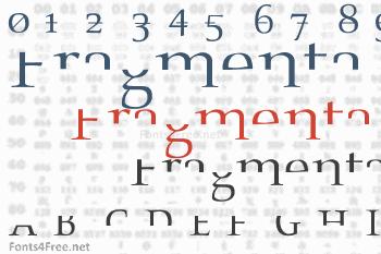 Fragmenta Font