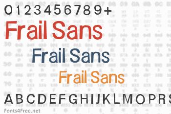 Frail Sans Font