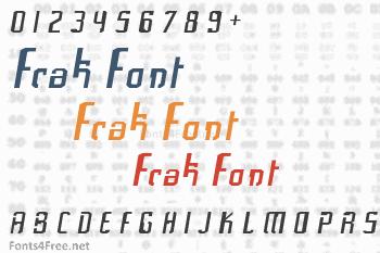Frak Font