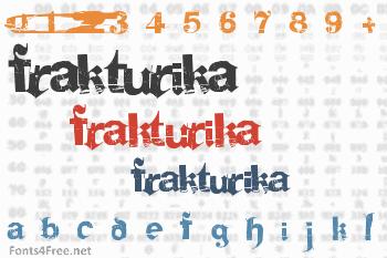 Frakturika Font