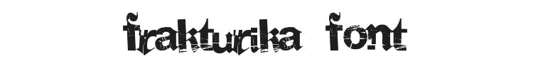 Frakturika Font Preview