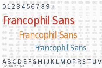 Francophil Sans Font