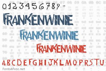 Frankenwinie Font
