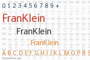 FranKlein Font