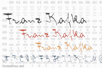Franz Kafka Font