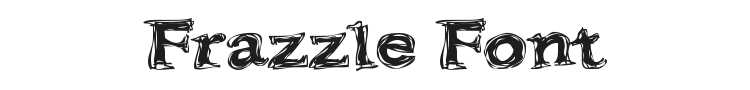 Frazzle Font Preview