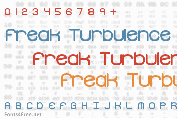 Freak Turbulence Font