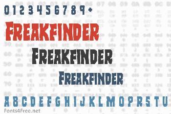 Freakfinder Font