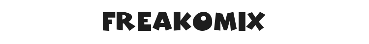 Freakomix Font Preview