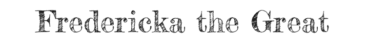 Fredericka the Great Font Preview