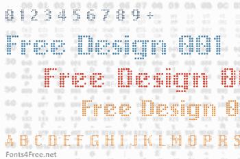 Free Design 001 Font