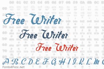 Free Writer Font