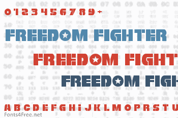 Freedom Fighter Font