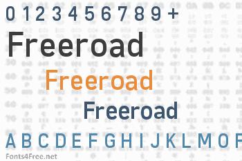 Freeroad Font