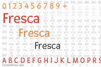 Fresca Font