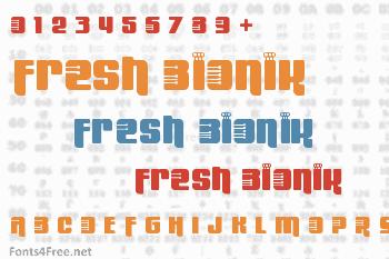 Fresh Bionik Font