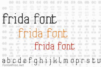 Frida01 Font