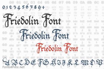 Friedolin Font