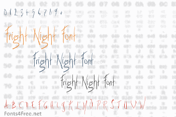 Fright Night Font
