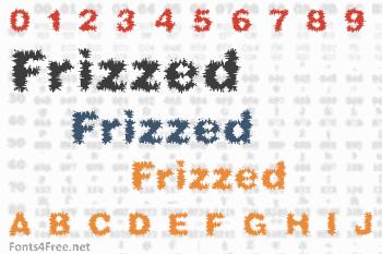 Frizzed Font