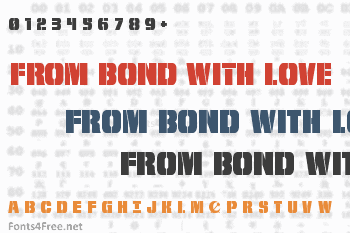 From Bond With Love Font
