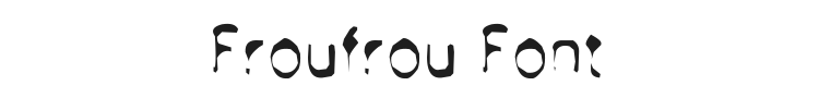 Froufrou Font Preview