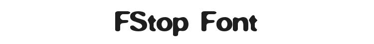 FStop Font Preview