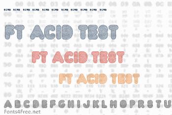FT Acid Test Font