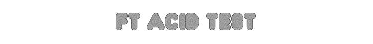 FT Acid Test Font Preview