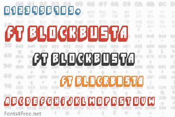 FT Blockbusta Font